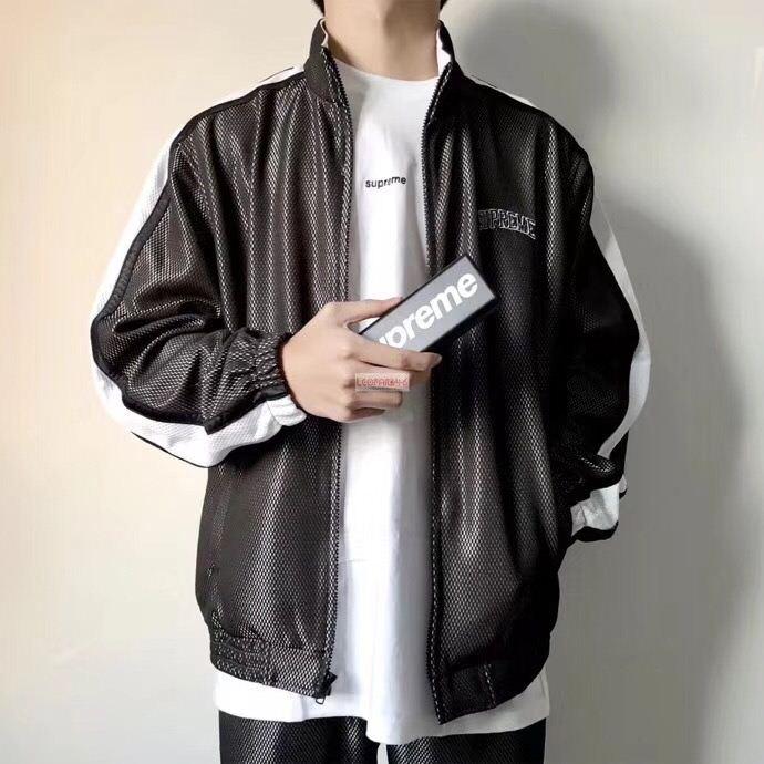 2018新色【即発】シュプリーム コピー bonded mesh track jacket ファション メンズ ジャケット supreme お得人気