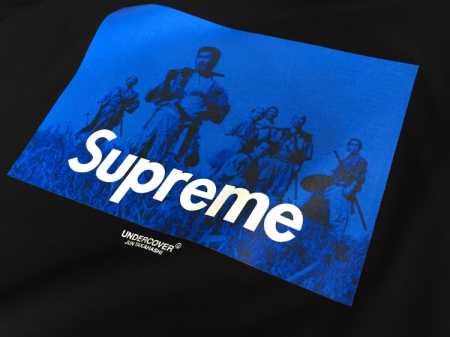 2016aw 新品 シュプリーム アンダーカバー コラボ supreme x undercover seven samurai tee ホワイト ブラック tシャツ box logo