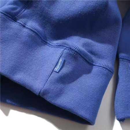 青 黒 赤 3色がある メンズ スウェット シュプリーム パーカー オーバーサイズがm l xl 秋冬服 大特価のsupreme 袖ロゴ フード付き ストリートブランド パーカー アウター.