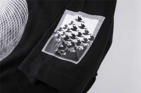 SUPREMEx m.c.escher シュプリーム マウリッツ・エッシャー コラボ tシャツ three spheres tee プリントtシャツ 新品 ホワイト ブラック ピンク