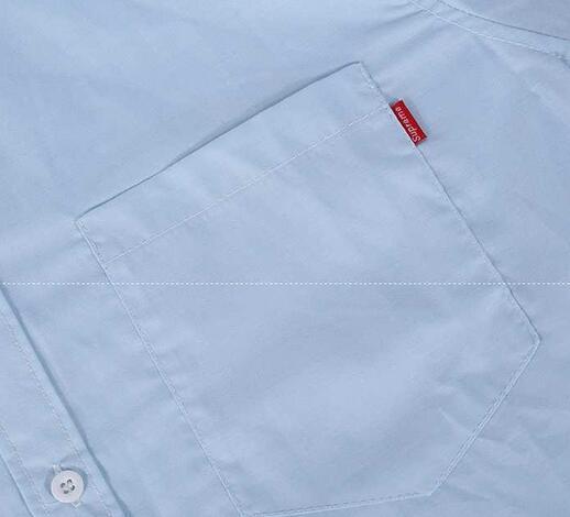 シュプリーム コムデギャルソン supremexcomme des garcons shirt 13ss デジカモドット柄 長袖シャツ 無地 ブルー