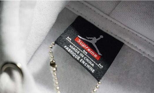 SUPREME x jordan hooded seatshirt 15fw シュプリーム ジョーダンコラボ パーカー ホワイト ブラック グレー