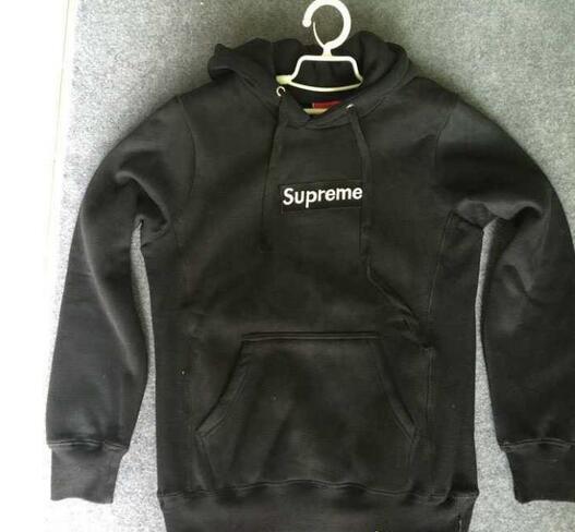 15秋冬 supreme シュプリーム box logo hooded sweatshirt ボックスロゴ スウェットパーカー ブラック グレー