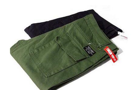 爆買い定番人気 supreme シュプリーム チノパン メンズ ワークパンツ グリーン ブラック ポッケト コットン