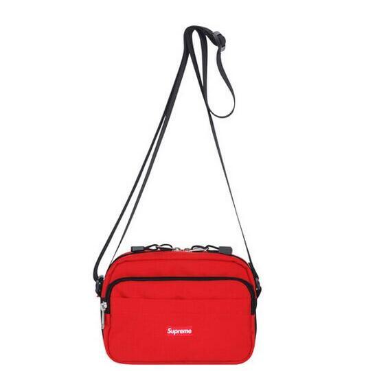 メンズファッション supreme ボックスロゴ バッグ レッド 限定セール定番人気 メンズ シュプリーム 斜め掛けショルダーバッグ.
