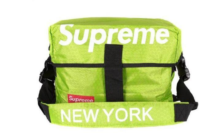 爆買い大人気 supreme new york シュプリーム バッグ ショルダー ニューヨーク グリーン メンズ ウエストバッグ.