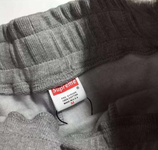 シュプリーム x ノースフェイス supreme the north face スウェットパンツ boxロゴ ブラック グレー ダブルネーム