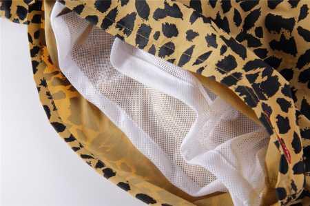 2015ss 再入荷 supreme leopard water short シュプリーム ゴールド パンツ レオパード ウォーターショーツ 水着