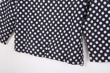 超かわいい m901 supreme 薄手 フード付き 丸デザイン ブラック シュプリーム レディース 秋冬 コート.