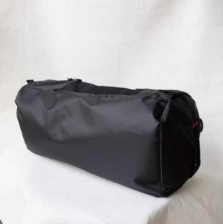 シュプリーム supreme 17ss box logo tonal duffle bag ボストンバッグ ダッフル コーデュラナイロン ショルダー 黒 メンズ.