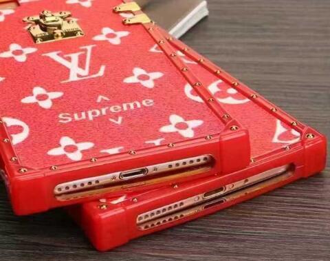 憧れられるSUPREME lv iphone7ケースカバーアイフォンケース人気モノグラム革製シュプリームルイヴィトンコラボ