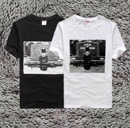 爆買い人気なSUPREME シュプリーム 半袖tシャツ モナリザ メンズ ブラック ホワイト グレー 3色 春夏服.