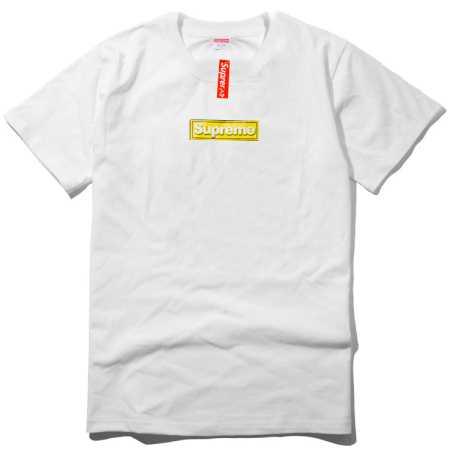 毎日大活躍なSUPREME ボックスロゴ シュプリーム 夏服 ブラック ホワイト グレー 3色 pocket tee 半袖tシャツ 男性.