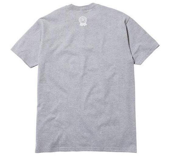 シュプリーム supreme ×comme des garcons shirt 18ss box logo tee boxロゴtシャツ 半袖 メンズ グレー.