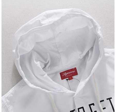 お買い得SUPREME arrested hooded shirt シュプリーム シャツインナーシュプリーム 格安ジープパーカ多色可選