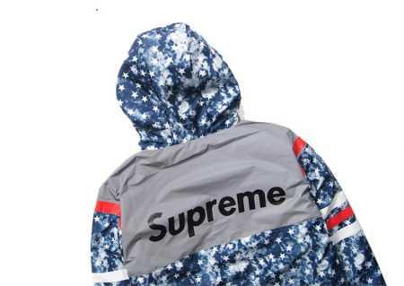 トレンドファッションシュプリームオンラインプリントパーカーSUPREMEパーカー偽物中綿パーカー防寒