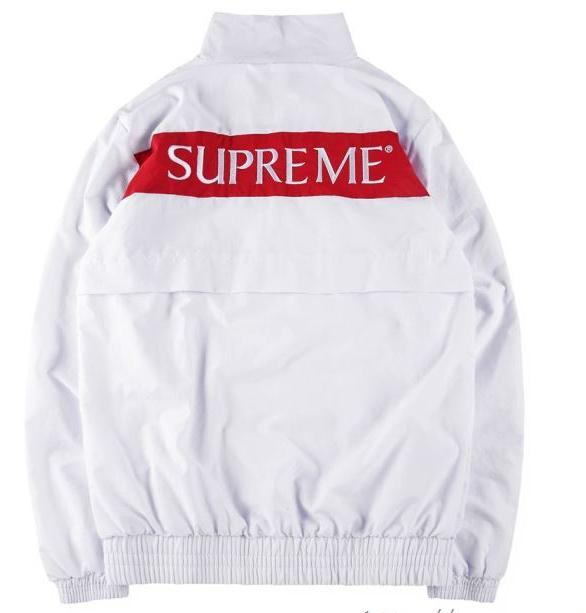 SUPREME シュプリーム コート偽物 ホワイト、ブラック、ブルー3色選択 arc track jacket ストリート .