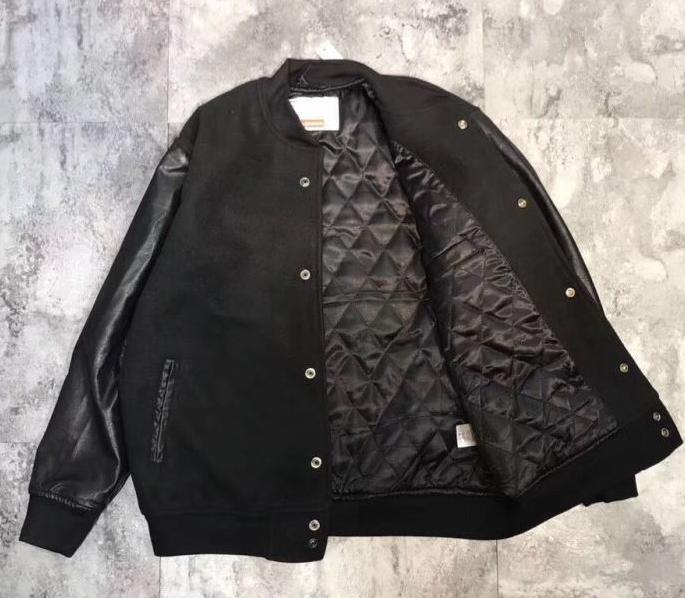 シュプリーム supreme × gonz ramm varsity jacket ゴンズ ジャケット シャツ ブラック レザー メンズ .