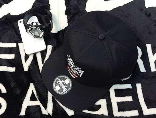 格好いいシュプリームボックスロゴ偽物コットンキャップSUPREME stussy コラボ刺繍ロゴ帽子
