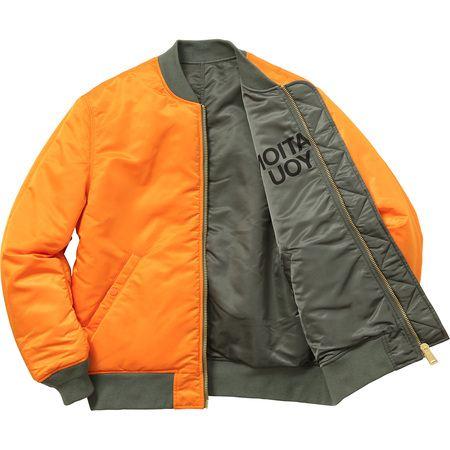 SUPREME ジャケット サイズ感 シュプリーム×undercover reversible ma-1 リバーシブル コート 3色選択.