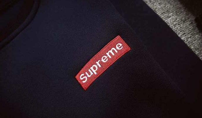 SUPREME スーパー コピー シュプリーム グレー、ブラック、ネイビー3色選択 プルオーバーパーカー 男女兼用.