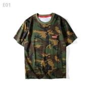 人気セール SUPREME シュプリーム tシャツ 17ss メンズ 迷彩柄 コットン クルーネック スモールボックスロゴ ポッケト半袖 tシャツ
