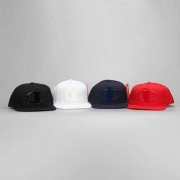 シンプルなデザイン シュプリーム オンライン ロゴ有りキャップ SUPREME 17SS 偽物 コットン 帽子 レッド 多色可選