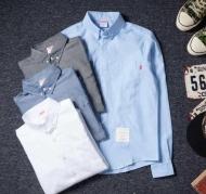 THOM BROWNExSUPREME トムブラウン シュプリーム コラボ 長袖シャツ メンズ 2015秋冬 ブルー ホワイト 4色