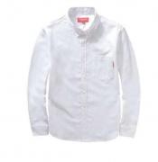 SUPREME シュプリーム 長袖シャツ Oxford Shirt オックスフォードシャツ 15ss ホワイト ブラック ブルー コットン