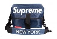 SUPREME x NEW YORK ニューヨーク x シュプリーム ネイビー 品質保証高品質 メンズ ショルダーバッグ.