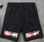ハーフパンツ メンズ SUPREME シュプリーム Box Logo 花柄ボックスロゴ スウェッパンツ ブラック ショートパンツ