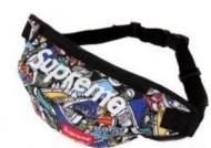 シュプリーム バッグ メンズ SUPREME 男性 ボディバッグ 花柄 品質保証お買い得 カジュアル メッセンジャーバッグ 斜め掛けバッグ.