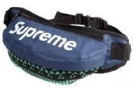 シュプリーム ウエストバッグ ダークブルー*花柄 メンズ SUPREME 爆買い品質保証 ショルダーバッグ 腰がけ.