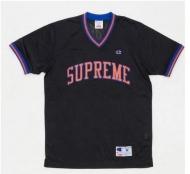 大人気 Supreme×Champion Shooting Jersey チャンピオン シュプリーム tシャツ 半袖 2015春夏 新作新品 ブラック