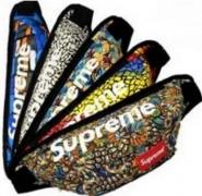 シュプリーム バッグ レディース メンズ兼用 SUPREME 迷彩 数量限定爆買い Waist Bag ウェストバッグ.