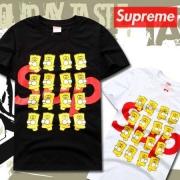 春夏 大人気 SUPREME シュプリーム 半袖 Tシャツ メンズ ホワイト ブラック 最安値お買い得 夏服 高品質なコットン生地.