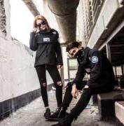 18 新品 SUPREME ×The North Face シュプリーム コート ブラック ナイロン生地  男女兼用 ストリート.