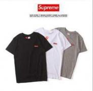 シュプリーム 偽 tシャツ SUPREME ショートスリーブ コットン 男女兼用 ストリートボックスロゴ 刺繍 8 色選択.