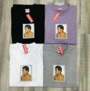 シュプリーム モハメド アリ / アンディー SUPREME Ali / Warhol Tee Tシャツ 半袖 パープル、グレー、黒、白.