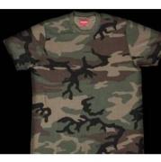 シュプリーム Tシャツ SUPREME POCKET TEE WOODLAND CAMO 迷彩 ショートスリーブ ウッドランドカモ.