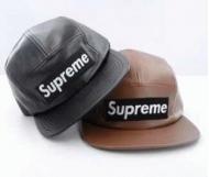 クールシュプリームレザーキャップSUPREME BOX LOGO偽物本革帽子ボールキャップ 男女兼用2色可選