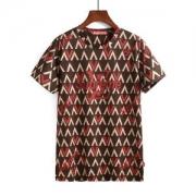2018年春夏新作シュプリームルイヴィトンコラボ半袖Tシャツ SUPREME LV クールネックプリントTシャツ2色可選