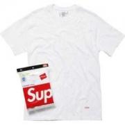 3色可選 supreme t シャツ コピー 通販 ブラック グレーホワイト プリント サイズ感 カップル 純色 コットン レディース メンズ