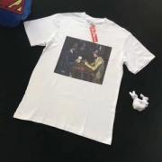 おしゃれシュプリームスタリートストイルコットン半袖フォトtシャツ