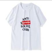 人気定番シュプリームボックスロゴtシャツ男女兼用クルーネック半袖tシャツ2色可選