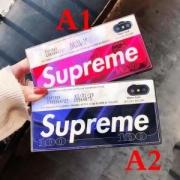 SUPREME激安2018夏定番アイテムストリート風のあるおしゃれなシュプリームiPhoneケース男女兼用2色可選択