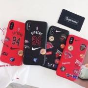 insファション!シュプリーム Supreme × Nike  2018新款 iphoneケース コピー ブランド 94 ナイキ 人気 ファション iPhone6 plus/6s plus ケース