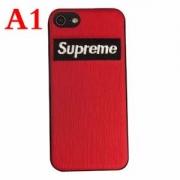 人気一番!シュプリーム iPhoneケース ストラップ付 ファション 個性 ボックスロゴ  iPhone7ケース ブラック レッド 保護性抜群