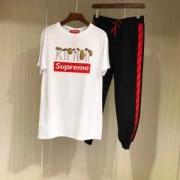 シュプリーム 潮Tee 個性的 Supremeコピー Tシャツ ユニセックス ヒップホップ 上下セット 人気新品 お得セール