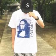 2018入荷度が高い 多色可選 シュプリーム SUPREME  Mona Lisa tee 半袖Tシャツ